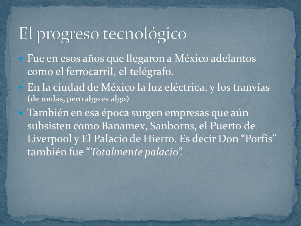 El progreso tecnológico