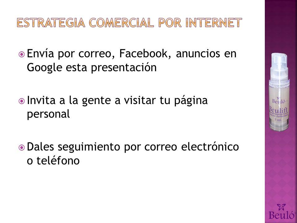 Estrategia comercial por internet