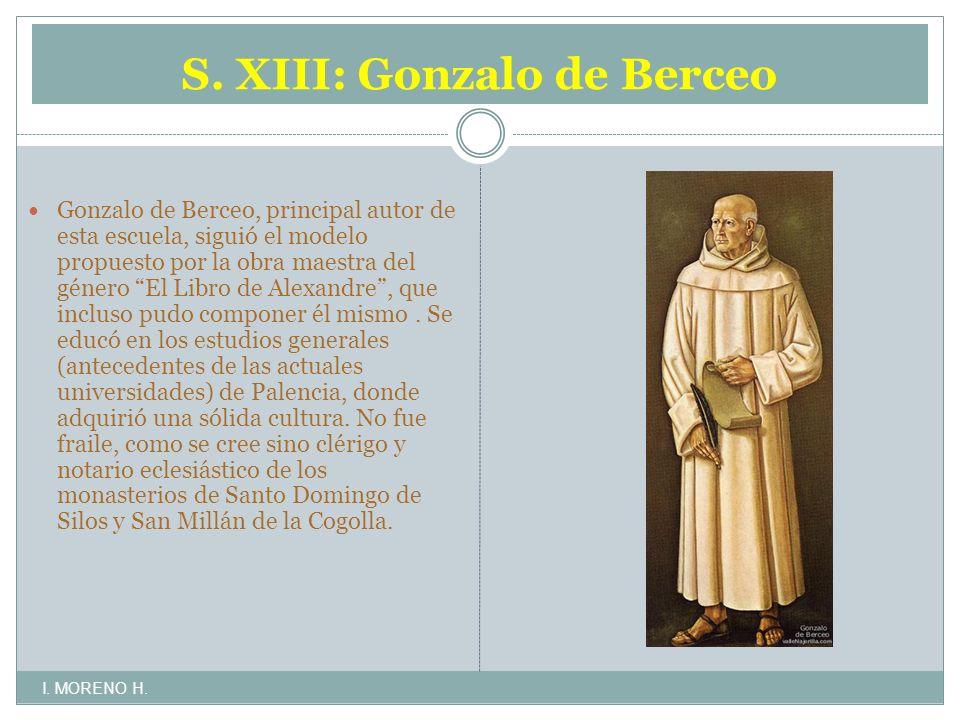 S. XIII: Gonzalo de Berceo