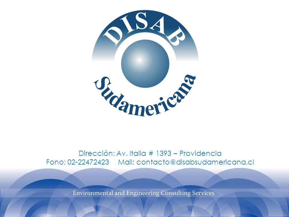 Dirección: Av. Italia # 1393 – Providencia