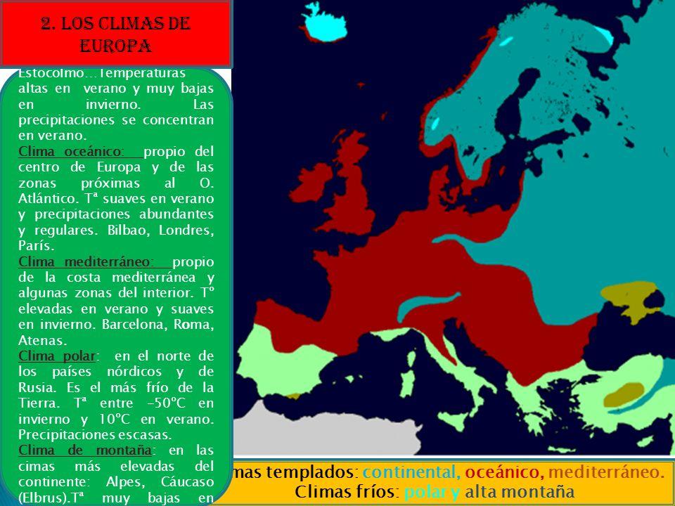 2. LOS CLIMAS DE EUROPA