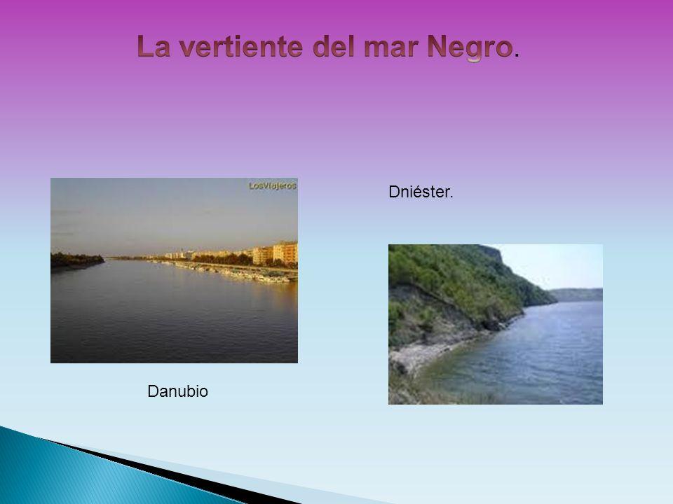 La vertiente del mar Negro.