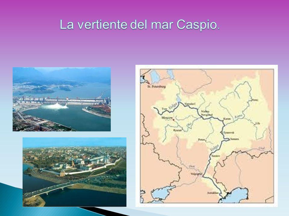 La vertiente del mar Caspio.