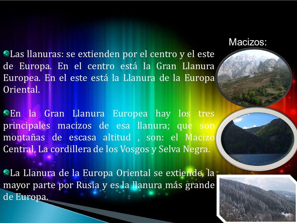 Macizos: