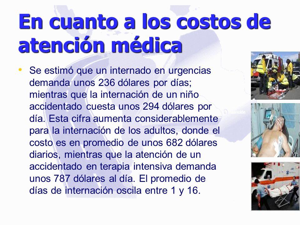 En cuanto a los costos de atención médica