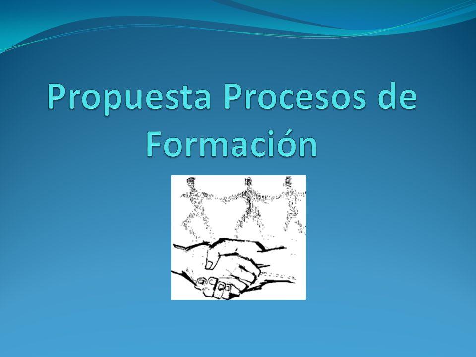 Propuesta Procesos de Formación