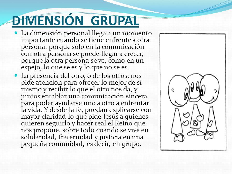 DIMENSIÓN GRUPAL