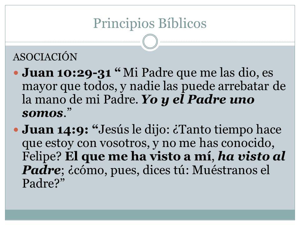 Principios Bíblicos ASOCIACIÓN.