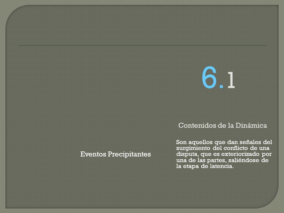 6.1 Contenidos de la Dinámica Eventos Precipitantes