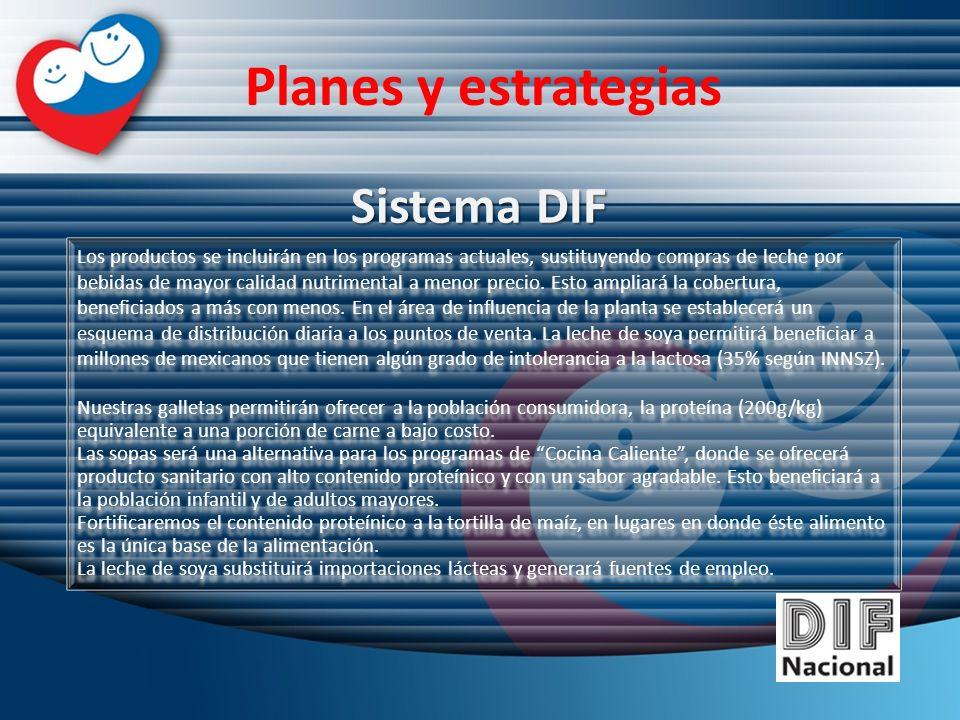 Planes y estrategias Sistema DIF