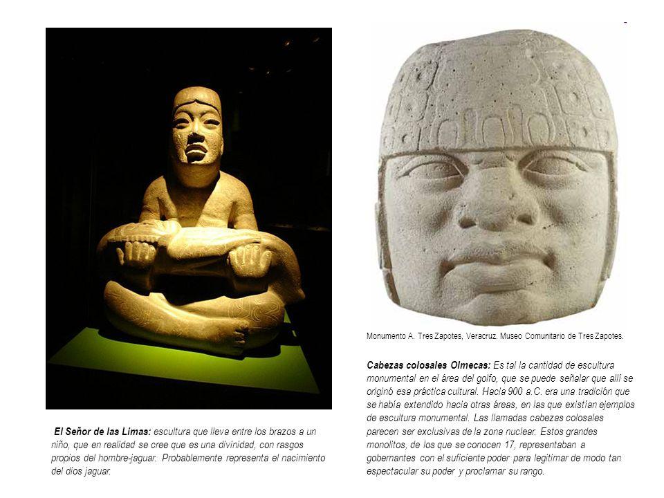 Monumento A. Tres Zapotes, Veracruz. Museo Comunitario de Tres Zapotes.