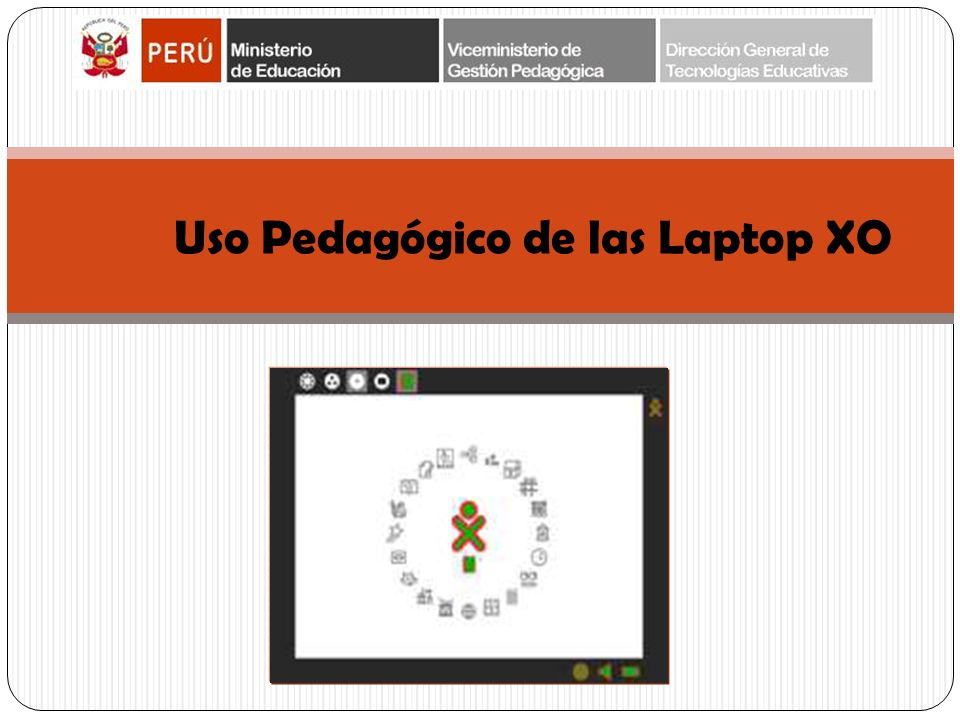Uso Pedagógico de las Laptop XO