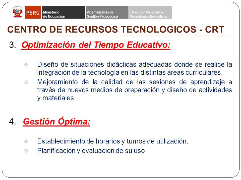 CENTRO DE RECURSOS TECNOLOGICOS - CRT