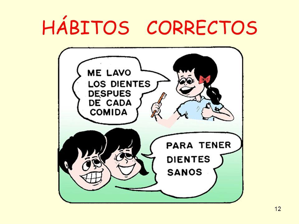 HÁBITOS CORRECTOS