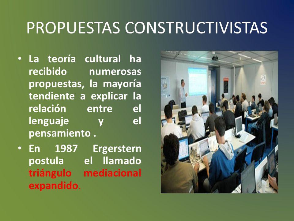 PROPUESTAS CONSTRUCTIVISTAS