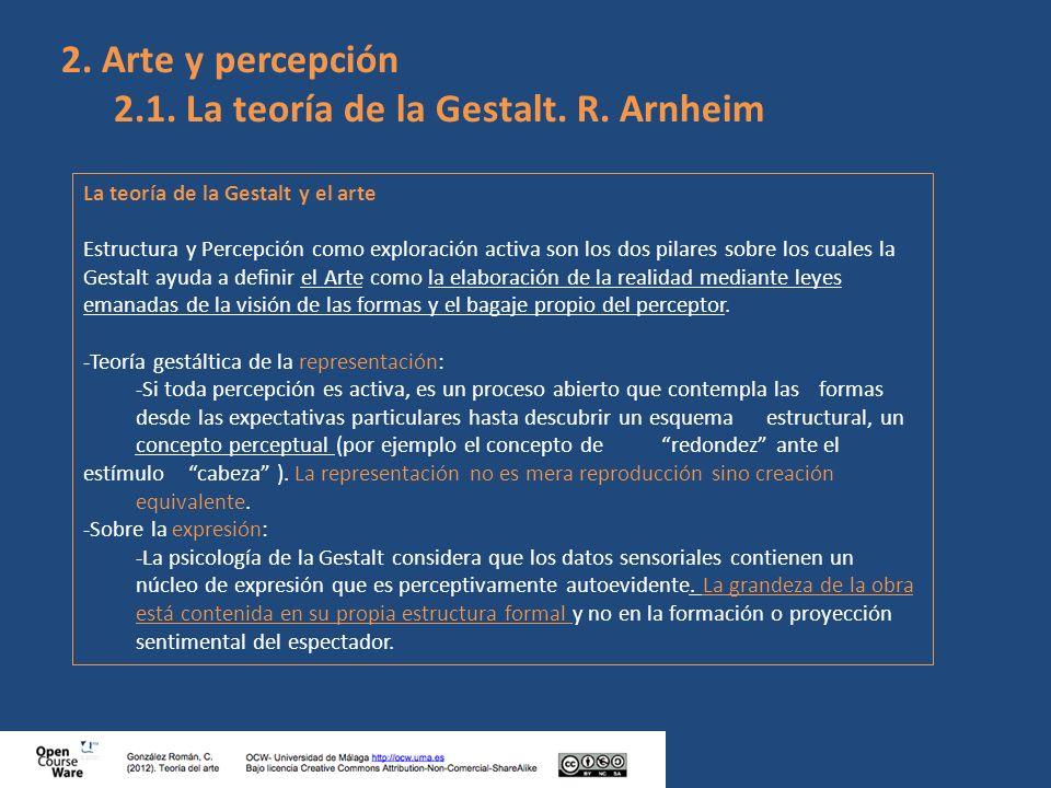 online Visual perception. Part 2, Fundamentals of awareness:
