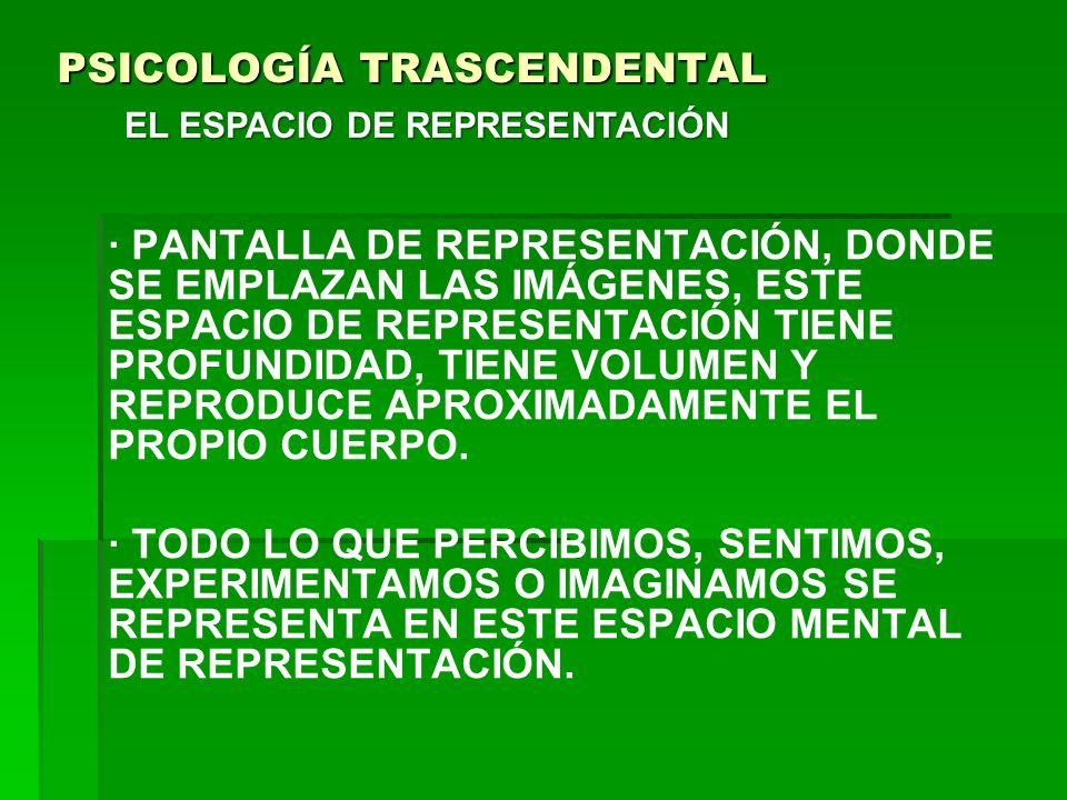 PSICOLOGÍA TRASCENDENTAL