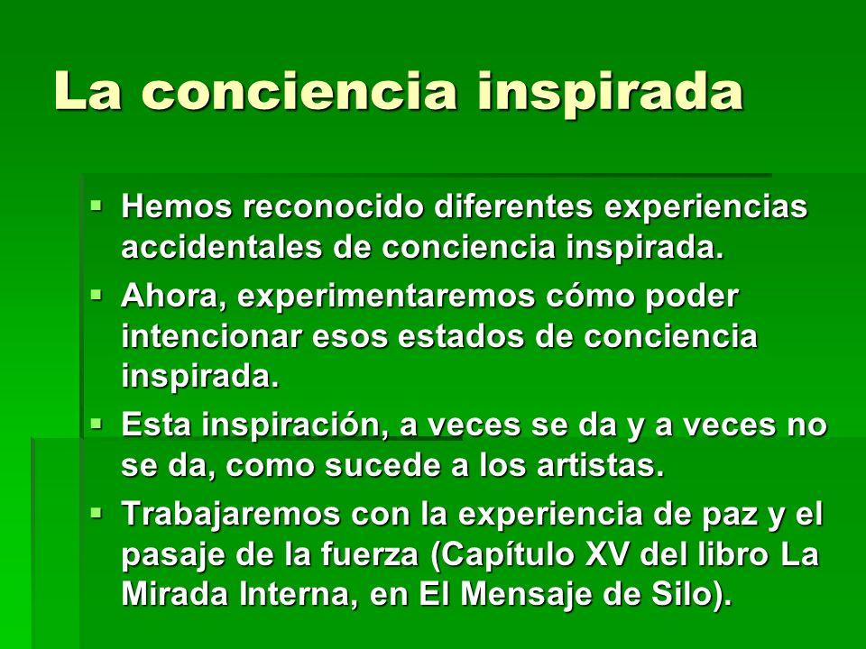 La conciencia inspirada