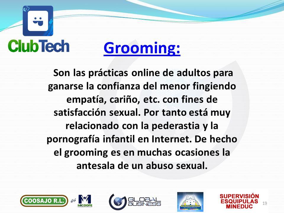 Grooming: