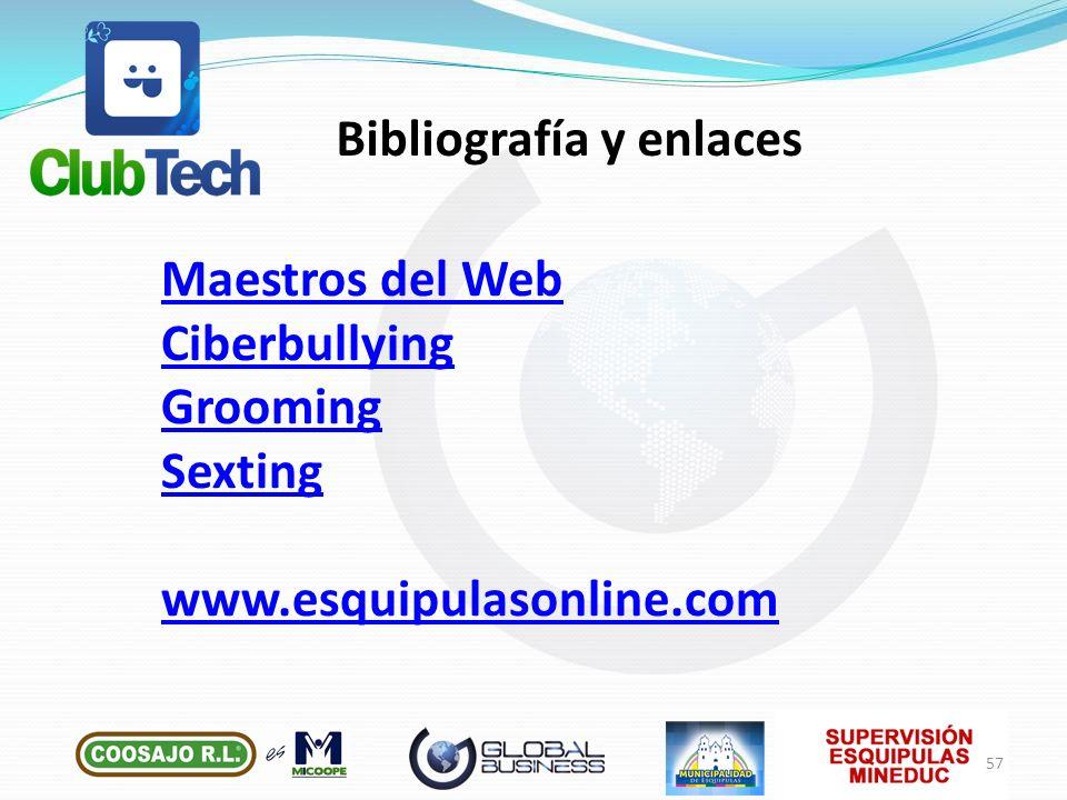 Bibliografía y enlaces
