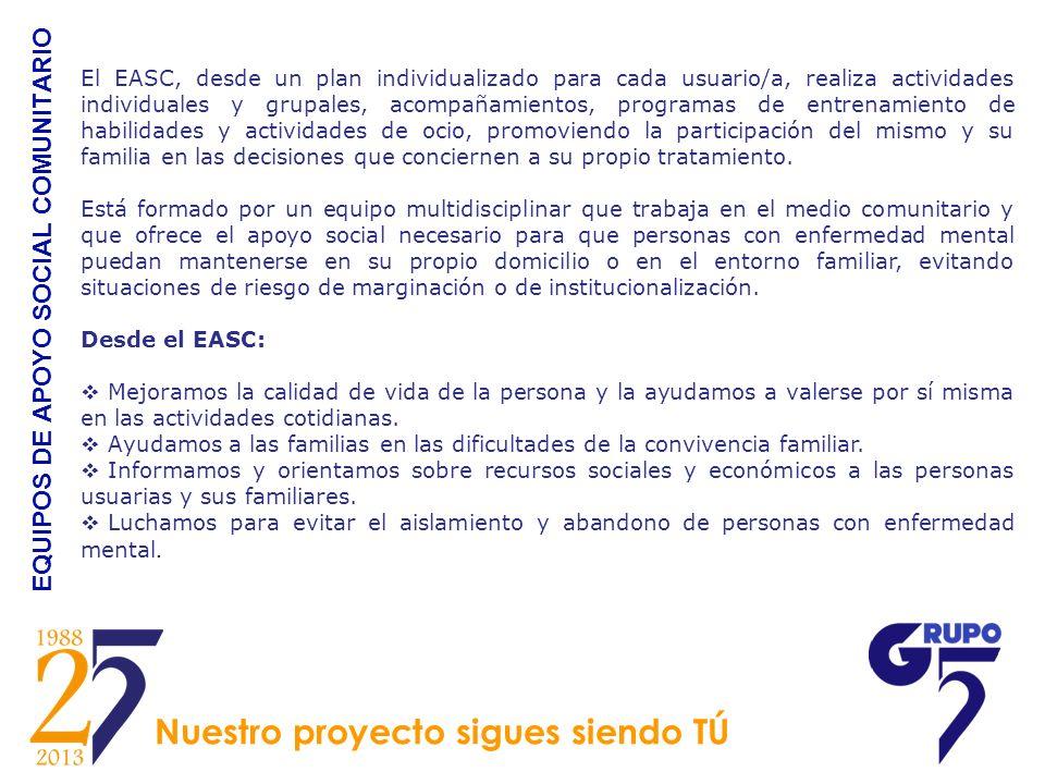 EQUIPOS DE APOYO SOCIAL COMUNITARIO
