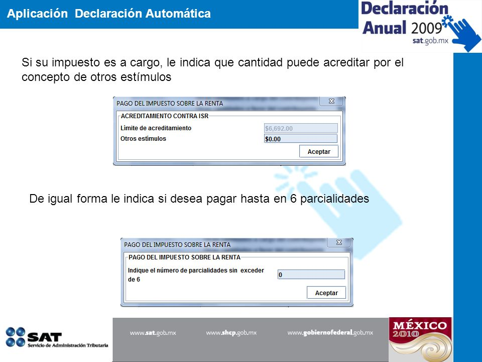 Aplicación Declaración Automática