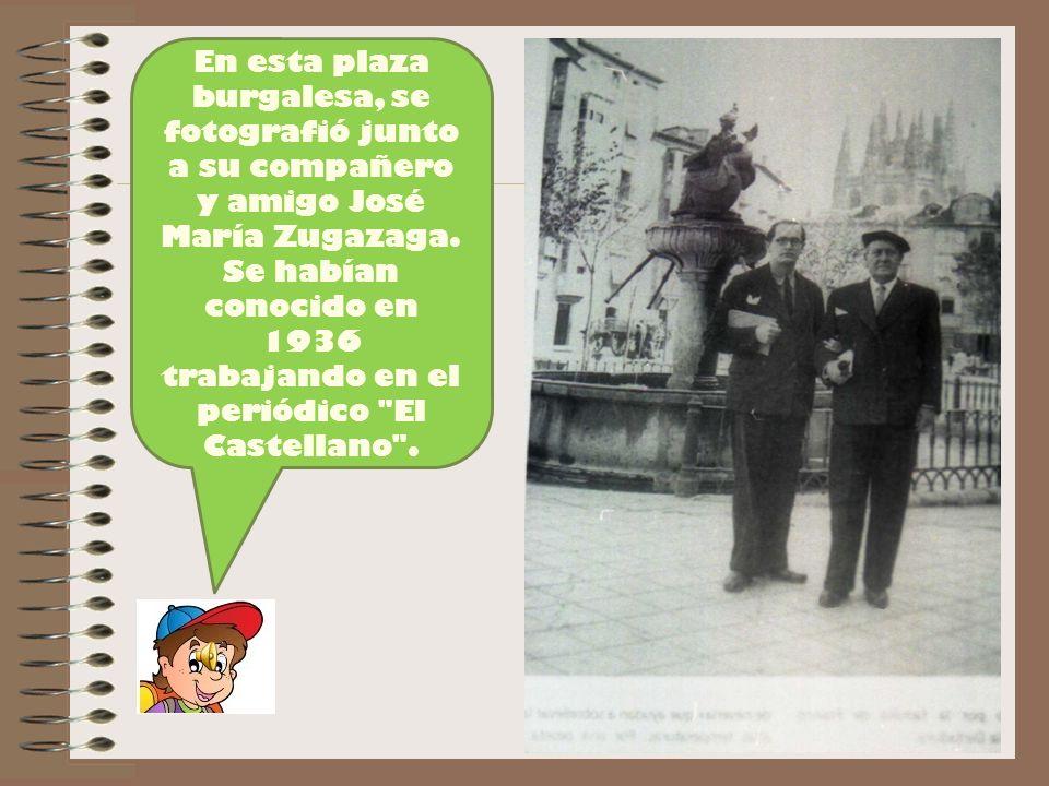 Se habían conocido en 1936 trabajando en el periódico El Castellano .
