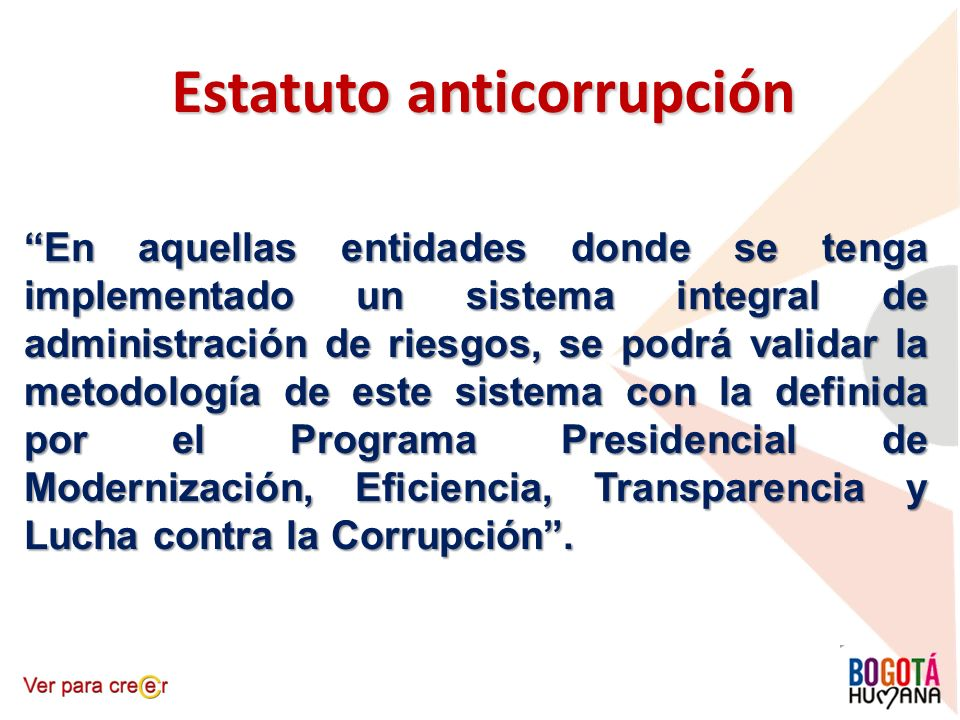 Estatuto anticorrupción