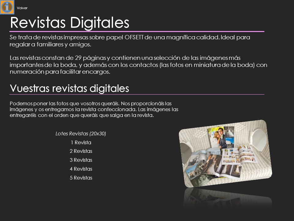 Revistas Digitales Vuestras revistas digitales