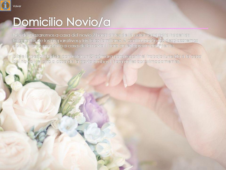 Volver Domicilio Novio/a.