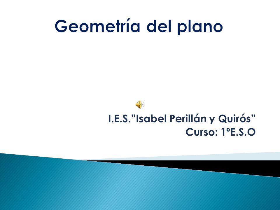 I.E.S. Isabel Perillán y Quirós Curso: 1ºE.S.O