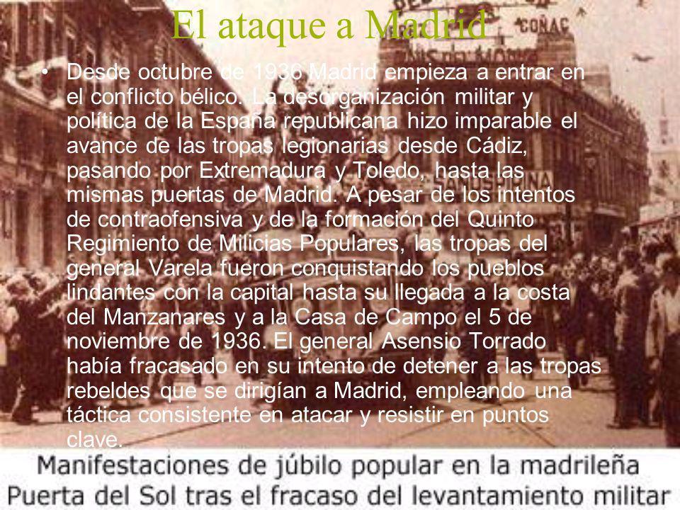 El ataque a Madrid