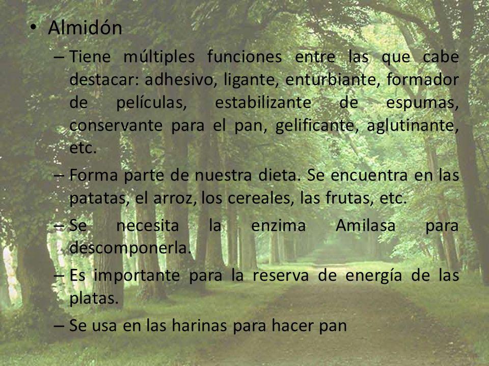 Almidón