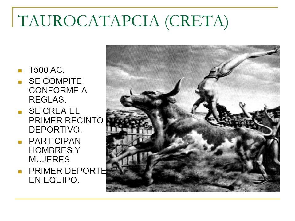 TAUROCATAPCIA (CRETA)