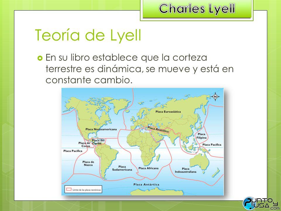 Teoría de Lyell Charles Lyell