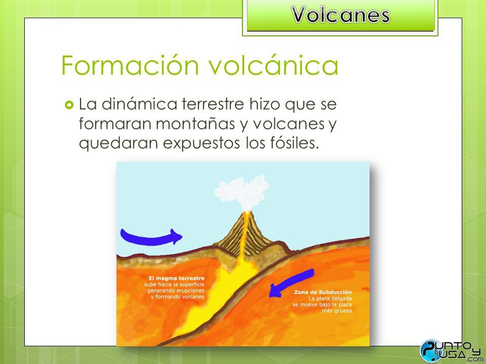 Formación volcánica Volcanes