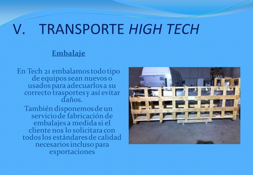 TRANSPORTE HIGH TECH