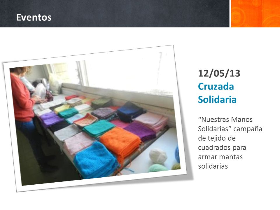 Eventos 12/05/13 Cruzada Solidaria