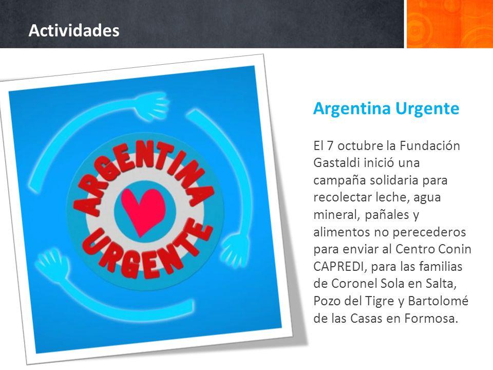 Actividades Argentina Urgente