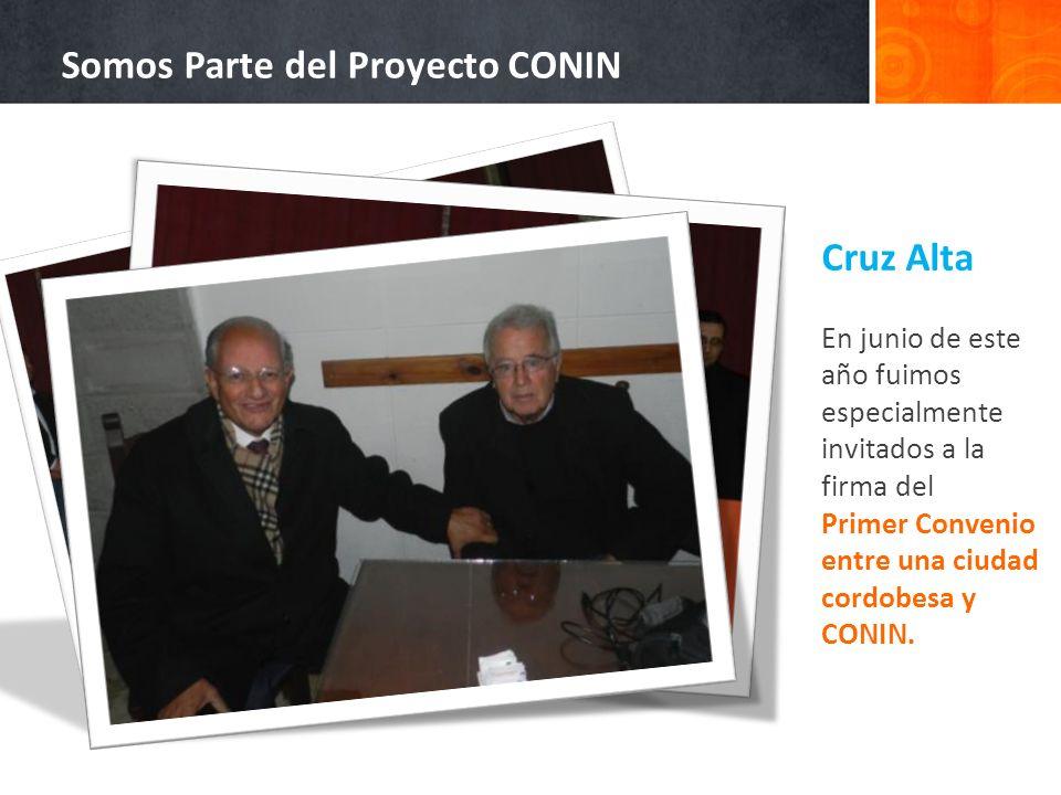 Somos Parte del Proyecto CONIN
