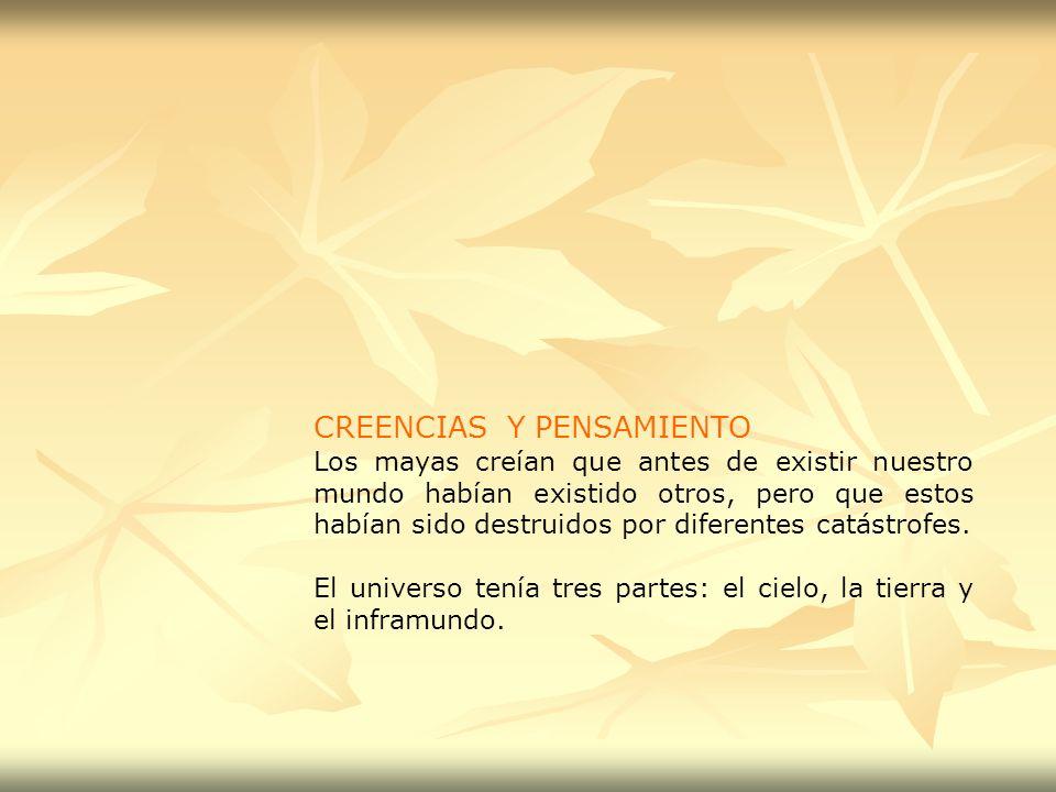 CREENCIAS Y PENSAMIENTO
