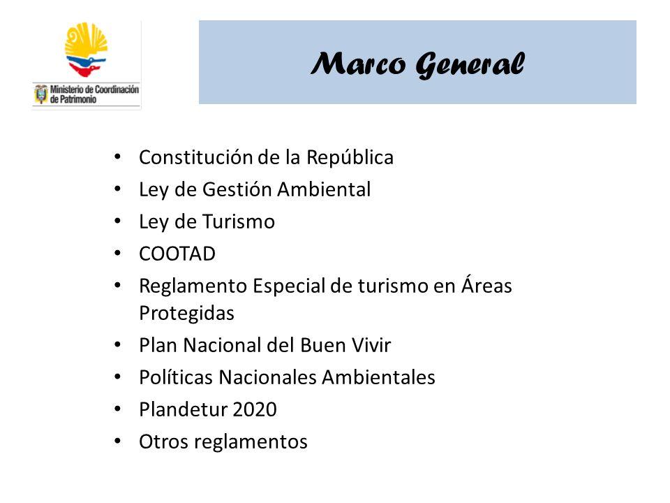 Marco General Constitución de la República Ley de Gestión Ambiental