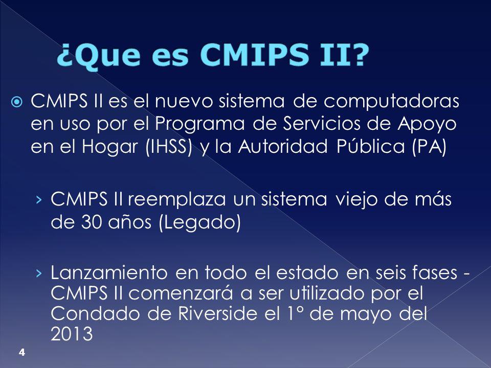 ¿Que es CMIPS II