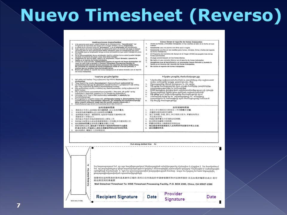 Nuevo Timesheet (Reverso)