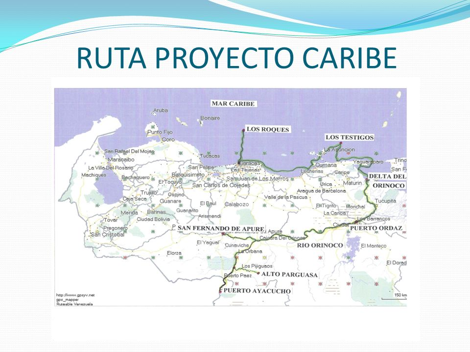 RUTA PROYECTO CARIBE