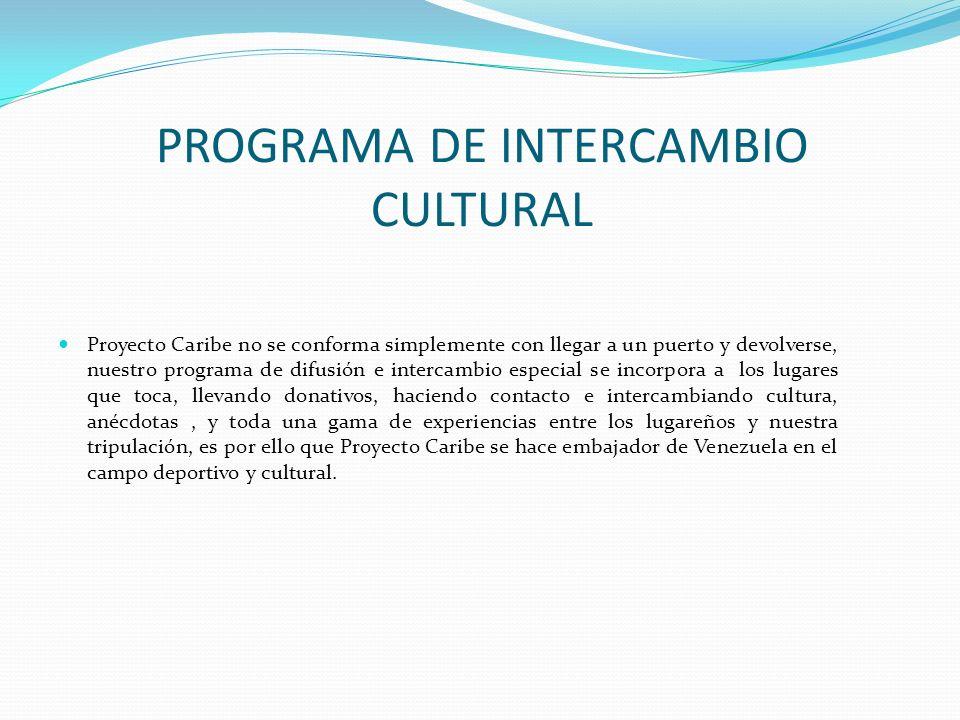 PROGRAMA DE INTERCAMBIO CULTURAL