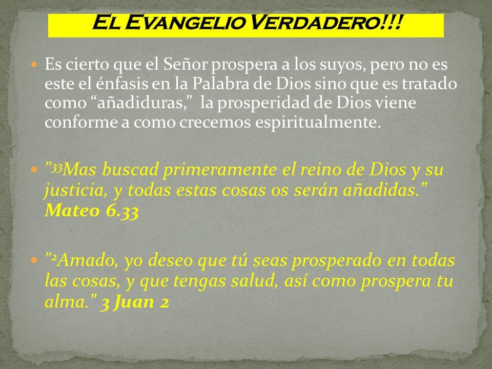 El Evangelio Verdadero!!!