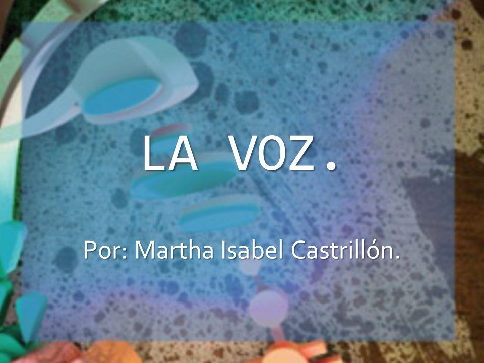 Por: Martha Isabel Castrillón.