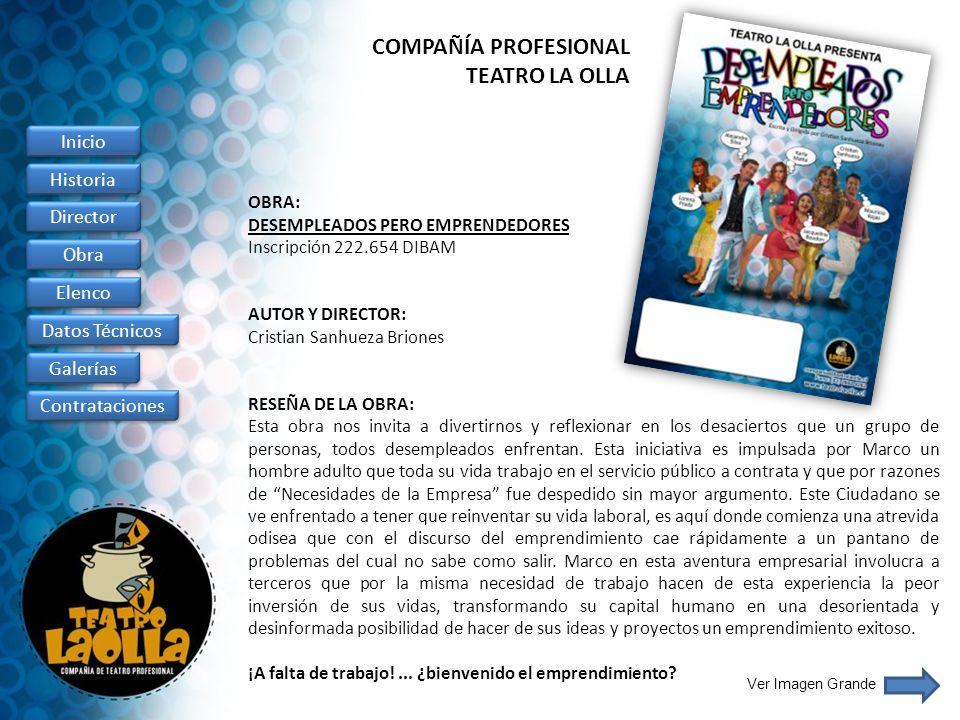 COMPAÑÍA PROFESIONAL TEATRO LA OLLA