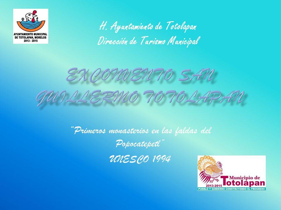 Exconvento San Guillermo Totolapan